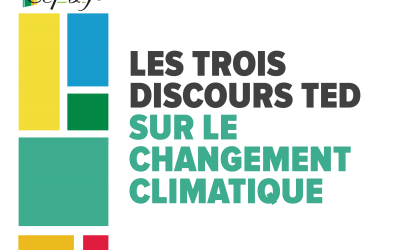 Les trois principaux discours TED sur le changement climatique qui méritent votre attention [FR/ENG]