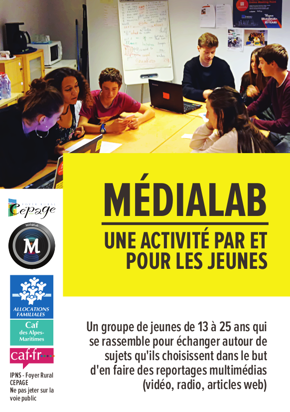 Flyer MédiaLab recto
